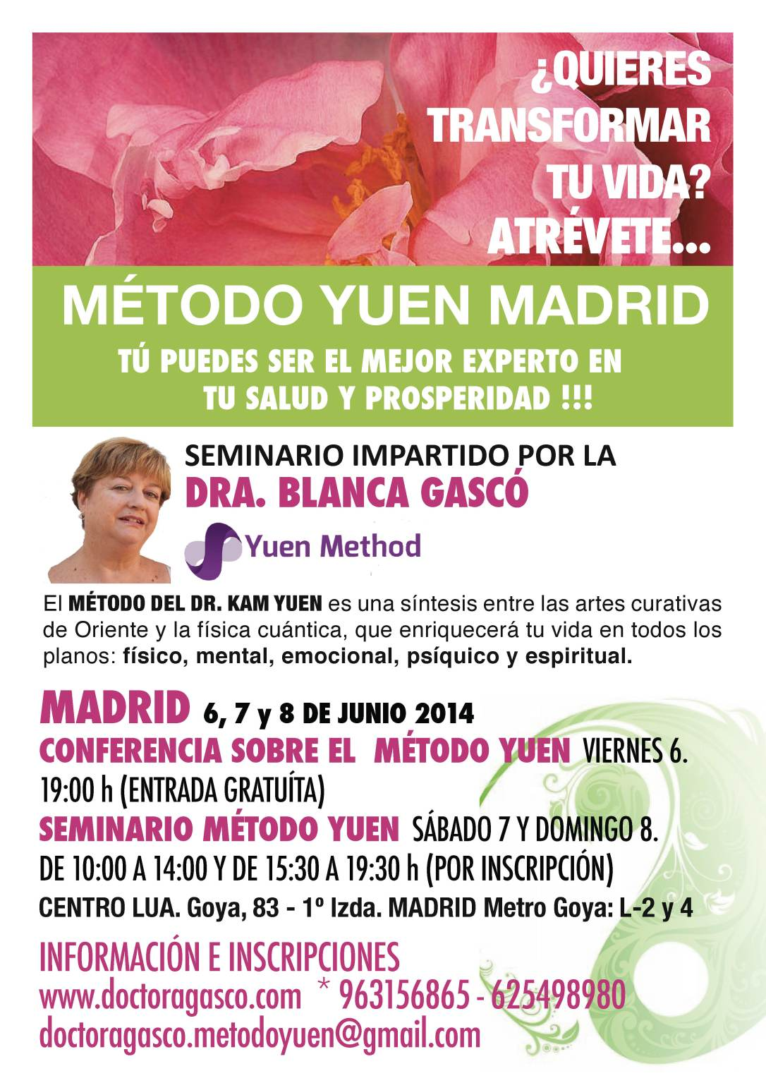 FLYER MÉTODO YUEN MADRID